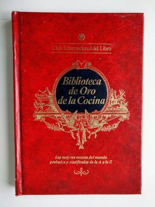 BIBLIOTECA DE ORO DE LA COCINA