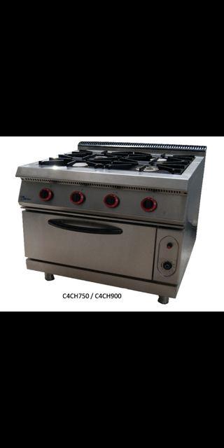 Cocinas de gas con horno de segunda mano en wallapop for Horno hosteleria segunda mano