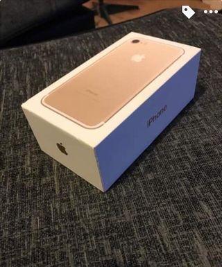 iPhone 7 128gb Rose Gold!