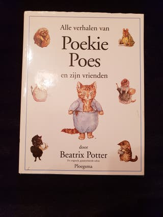 libro en holandés Poekie Poes- Beatrix Potter.