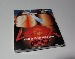 """Juego Nintendo Virtual Boy """"Red Alarm"""""""