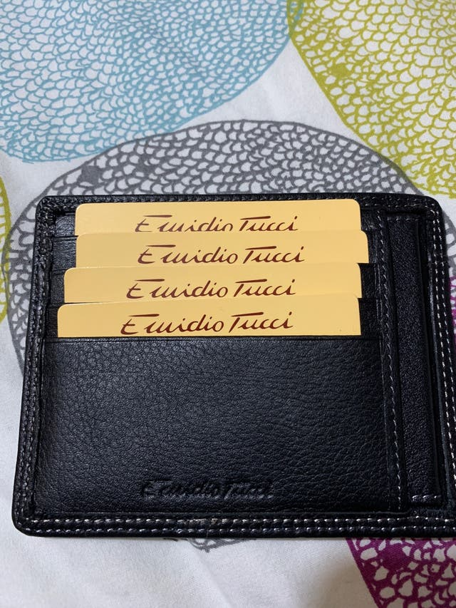 Billetera tarjetero Emidio tucci