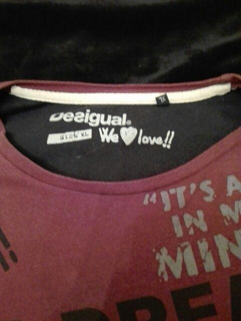 camiseta manga larga,Desigual
