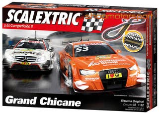 CIRCUITO SCALEXTRIC C2 GRAND CHICANE A10232S500