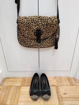 Bailarinas leopardo #ZARA T.37