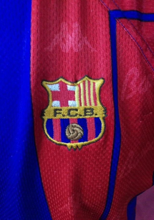 171f0dd7d0 Camiseta fútbol Kappa Barcelona de segunda mano por 50 € en Zaragoza ...