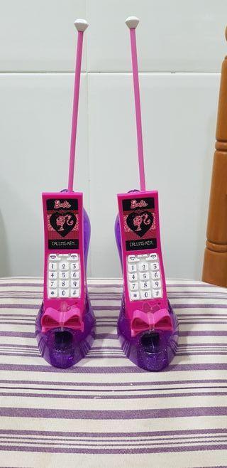 telefono intercomunicador barbie