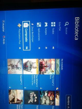 Cuenta de Playstation Network con 116 juegos