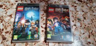 lego harry potter PSP 1-4 y 5-7