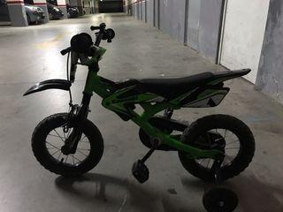 Bicicleta moto de cross