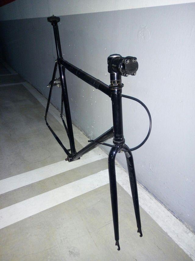!! Oportunidad !! Cuadro bicicleta carretera