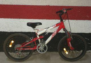 """Bicicleta 20"""" montaña"""