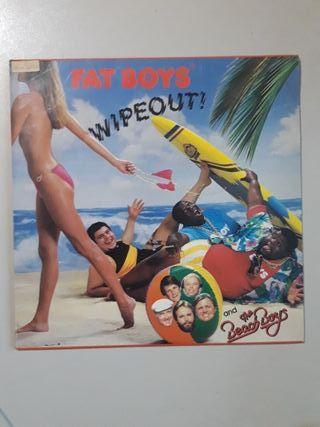 Vinilo Fat Boys & The Beach Boys - Wipeout