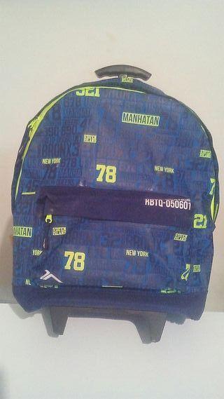 Mochila + ruedas de mochila