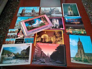 Coleccion de postales, 80 unidades