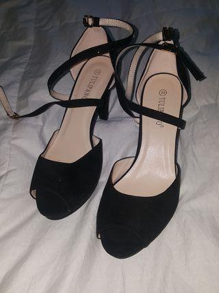 zapatos tacon nuevos talla 39