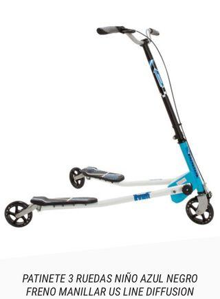 Monopatín 3 ruedas niñ@