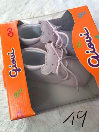 Pack botas/zapatos de bebe