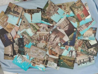 Antiguas postales de arte