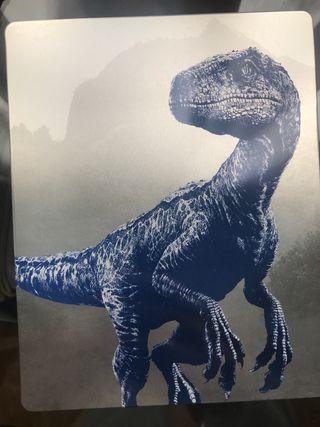 Jurassic World Reino Caido BluRay SteelBook UHD