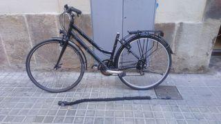 bicicleta cambio de velocidades