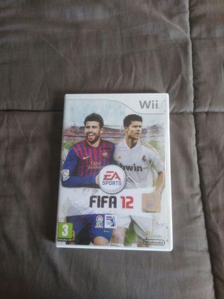Juego FIFA 12 para WII
