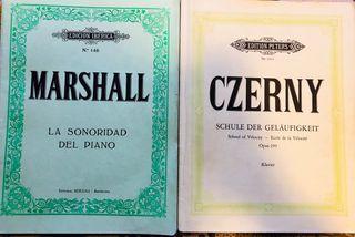 Libros de piano. Llibres de piano
