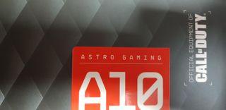Auriculares Astro Gaming A10 nuevos a estrenar
