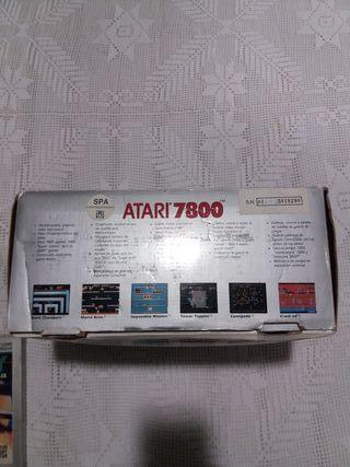 atari 7800 consola vintage