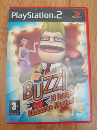 Buzz El Gran Concurso Musical. PS2