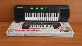 teclado eléctrico 42 cm 29 teclas