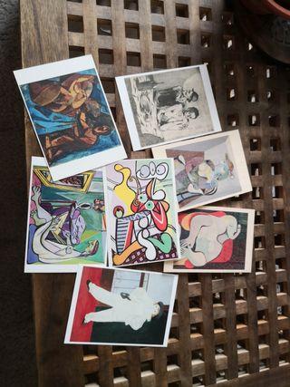 Lote postales Pablo Picasso