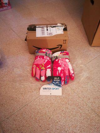 guantes de esqui niña Sky