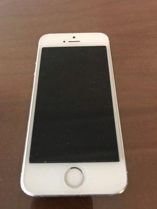 iPhone 5s 16GB blanco-plata
