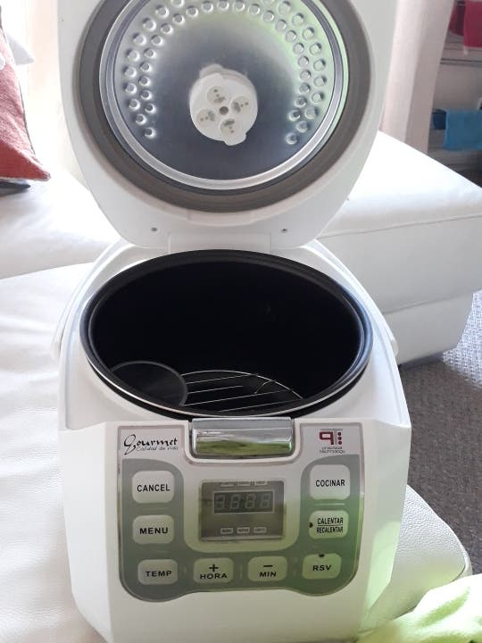 Electric cooker gourmet 3000 + accessories