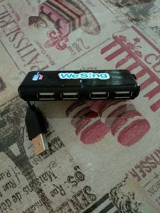 USB para WII, para conectar varios micrófonos