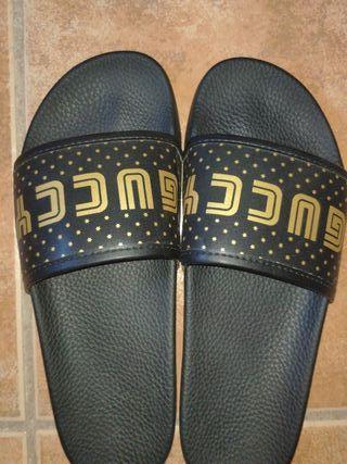 Sandalias Gucci de segunda mano en WALLAPOP e26d3090133
