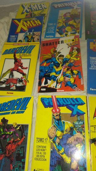 Cómics Marvel y DC