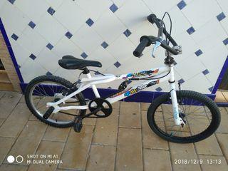 bicicleta mbx niño