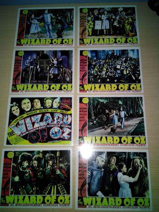 8 Postales de El mago de Oz (NUEVAS)