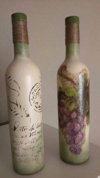 botella decorativas