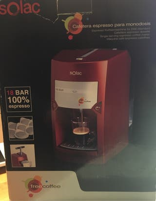 Cafetera Solac para estrenar