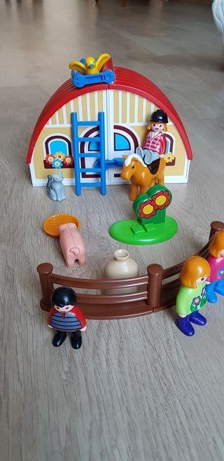 Maletín Granja Playmobil 123
