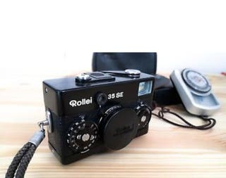 Rollei 35 SE + Sonnar 2.8/40mm + Telémetro Yashica