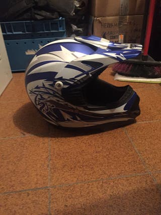 Casco de enduro
