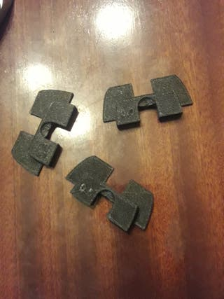 Kit piezas antiholgura m365