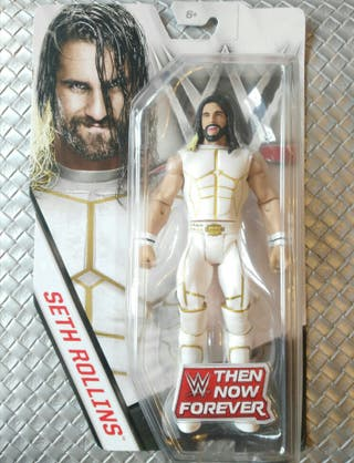 Figura de Seth Rollins WWE Exclusiva Blanco Atuend