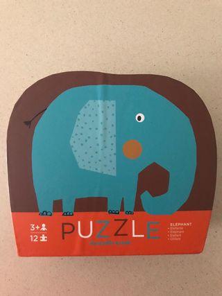 Puzzle elefante 12 pcs