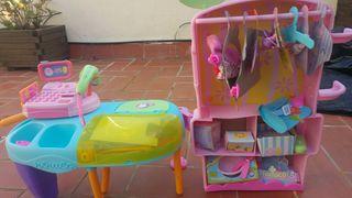 NENUCO Boutique con caja registradora y accesorios