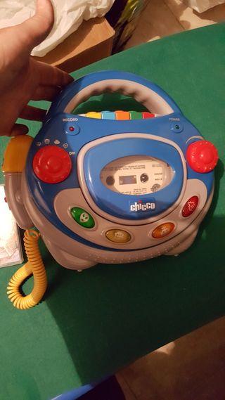 Radio cassette infantil Chicco